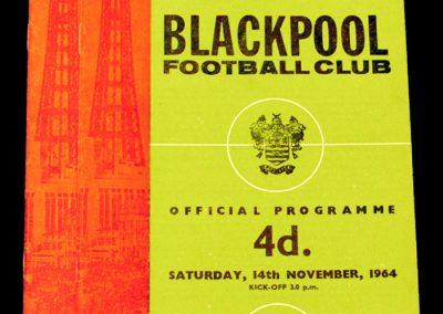 Blackpool v Manchester United 14.11.1964