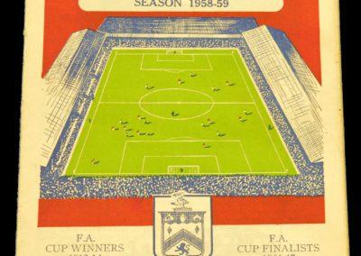 Burnley v Manchester United 28.03.1959