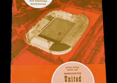 Borussia Dortmund v Manchester United 02.12.1964 | Inter-Cities Fairs Cup | 2nd Round 2nd Leg
