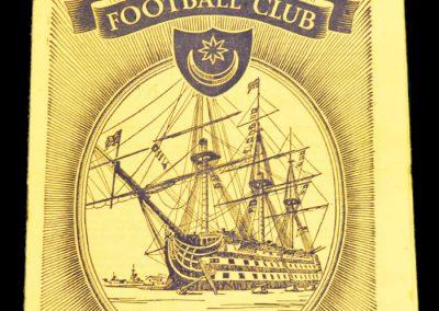 Portsmouth FC v Manchester United 30.03.1959