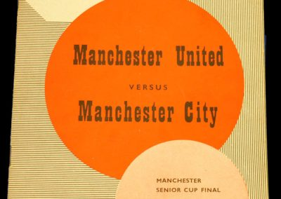 Manchester City v Manchester United 13.04.1959 | Senior Cup Final