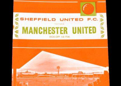 Sheffield United v Manchester United 26.12.1964