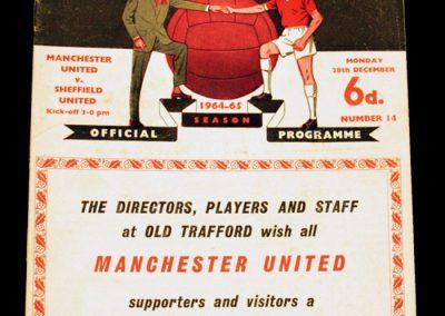 Sheffield United v Manchester United 28.12.1964