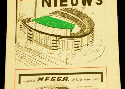 Feyenoord v Manchester United 28.04.1959   Reserves