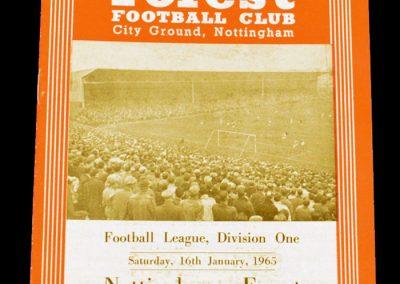 Nottingham Forest v Manchester United 16.01.1965