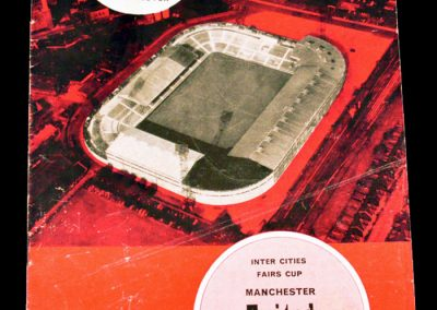 Manchester United v Everton 20.01.1965 | Inter-Cities Fairs Cup | 3rd Round 1st Leg