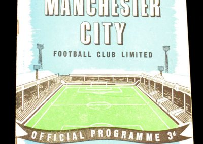 Everton v Manchester City 13.09.1958