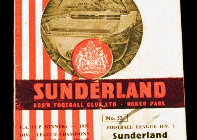 Sunderland v Manchester United 24.02.1965