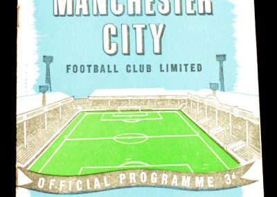 Leeds United v Manchester City 04.10.1958