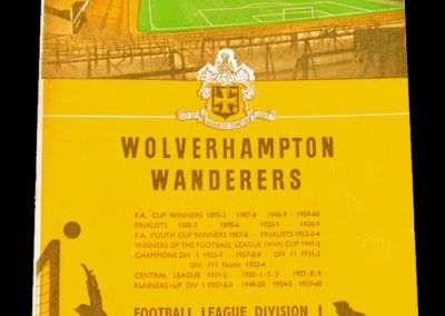 Wolverhampton Wanderers v Manchester United 10.03.1965 | FA Cup 6th Round