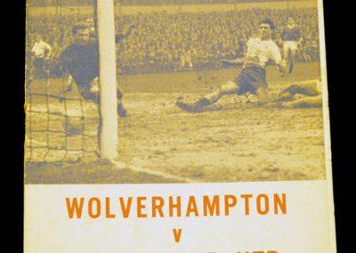 Wolverhampton v Manchester 10.03.1965 | FA Challenge Cup Quarter Final