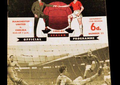 Manchester United v Chelsea 13.03.1965