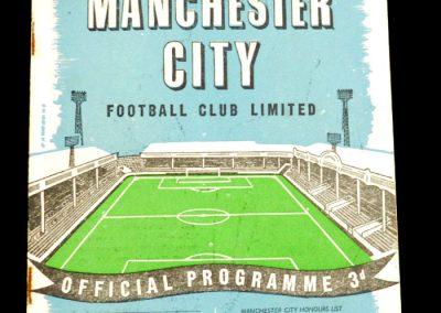 Manchester City v Tottenham Hotspur 01.11.1958
