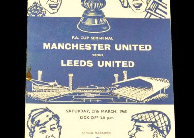 Manchester United v Leeds United 27.03.1965 | FA Cup Semi-Final