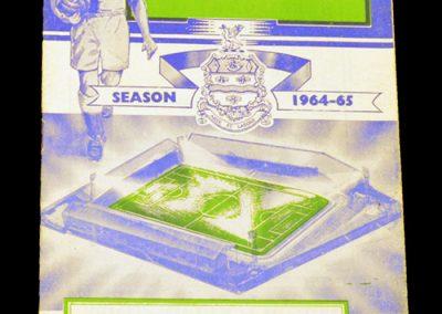 Blackburn Rovers v Manchester United 03.04.1965