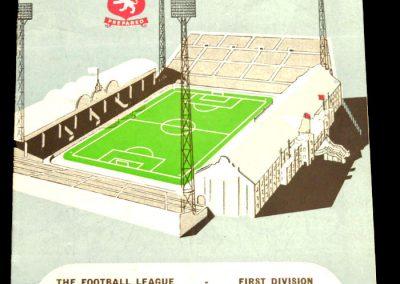 Aston Villa v Manchester City 06.12.1958