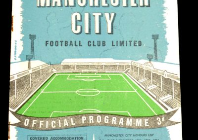 Manchester City v West Ham United 13.12.1958