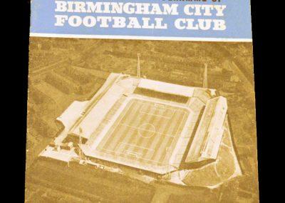 Manchester United v Birmingham City 19.04.1965