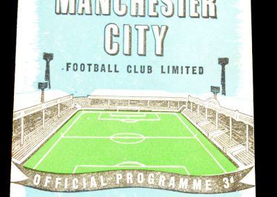 Arsenal v Manchester City 07.01.1959