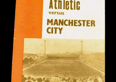 Charlton Athletic v Manchester City 22.08.1964