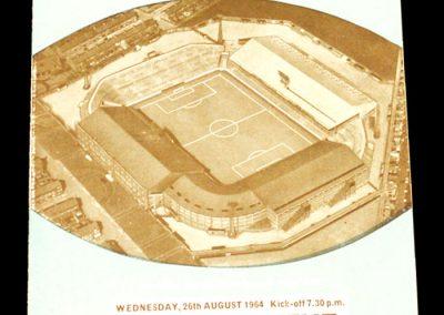Manchester City v Leyton Orient 26.08.1964