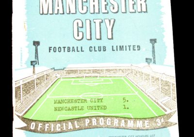 Newcastle United v Manchester United 14.03.1959