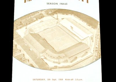 Manchester City v Portsmouth 05.09.1964