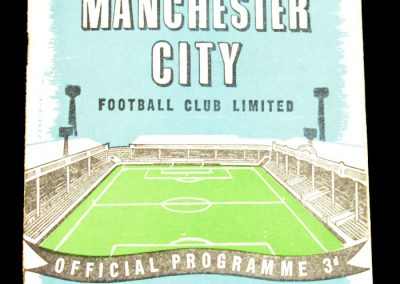Nottingham Forest v Manchester City 28.03.1959