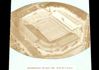 Manchester City v Norwich City 09.09.1964