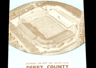 Derby County v Manchester City 19.09.1964