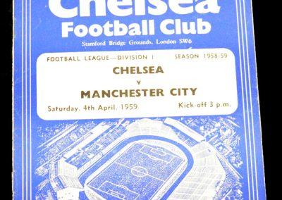 Chelsea v Manchester City 04.04.1959