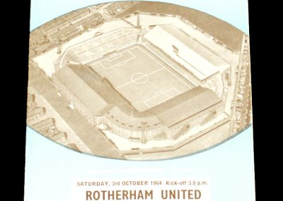 Rotherham United v Manchester City 03.10.1964