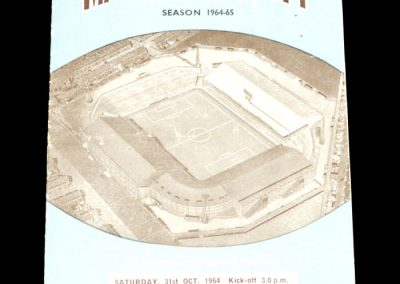 Manchester City v Cardiff 31.10.1964