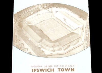 Ipswich town v Manchester City 14.11.1964
