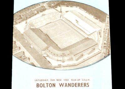 Manchester City v Bolton Wanderers 28.11.1964
