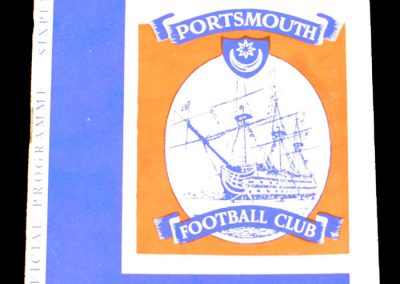 Portsmouth v Manchester city 02.01.1965