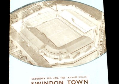 Manchester City v Swindon Town 16.01.1965