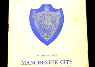 Huddersfield Town v Manchester City 27.02.1965