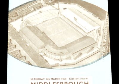 Manchester City v Middlesbrough 06.03.1965