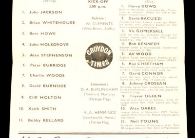 Crystal Palace v Manchester United 19.04.1965