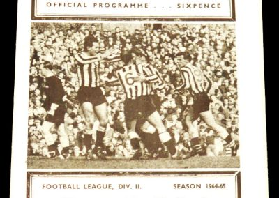 Newcastle United v Manchester City 24.04.1965