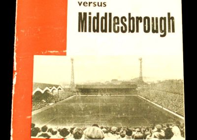 Charlton Athletic v Middlesbrough 31.08.1963
