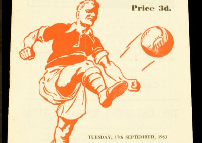 Rotherham United v Middlesborough 17.09.1963