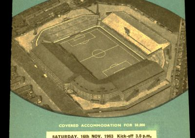Manchester City v Middlesbrough 16.11.1963 - Postponed
