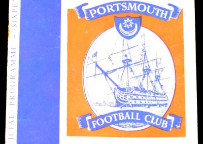 Portsmouth v Middlesbrough 22.02.1964