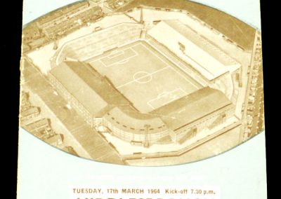 Manchester City v Middlesbrough 17.03.1964