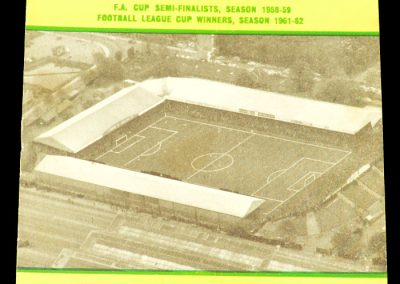 Norwich City v Middlesbrough 18.04.1964