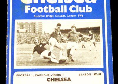Chelsea v Burnley 04.09.1963