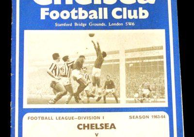 Arsenal v Chelsea 16.11.1963