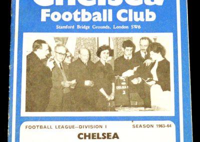 Wolverhampton Wanderers v Chelsea 08.02.1964